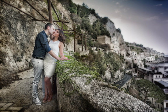 Foto promessa matrimonio Costiera Amalfitana