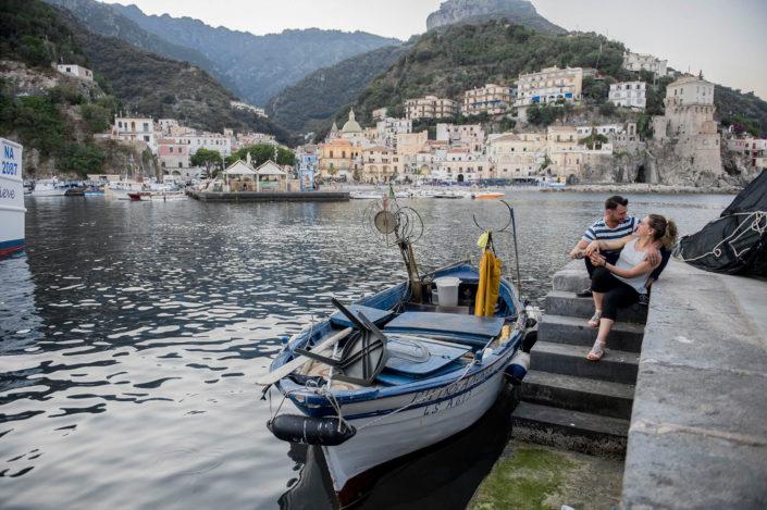 fotografia porto Costiera Amalfitana