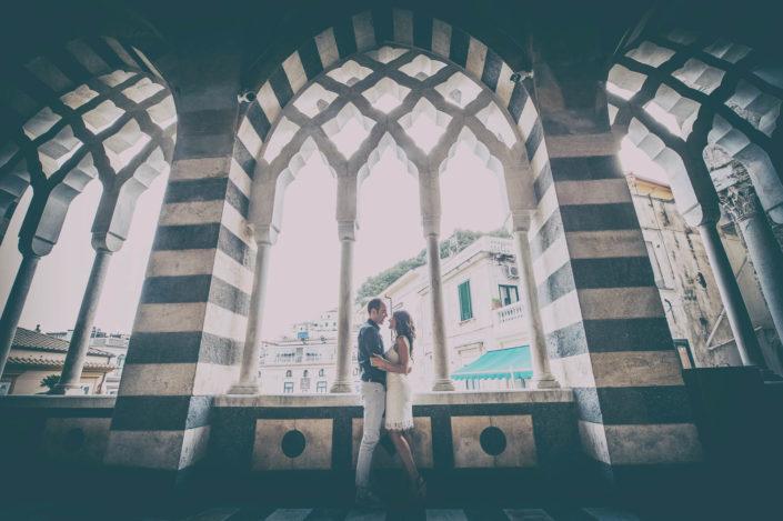 Foto fidanzati Duomo di Amalfi