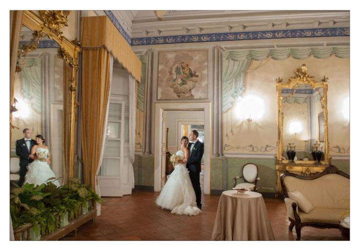 matrimonio Villa soglia interni