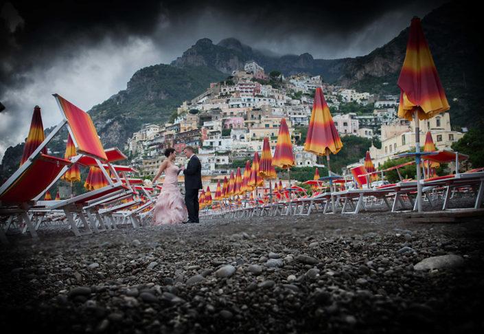 spiaggia di Positano foto Angelo Oliva