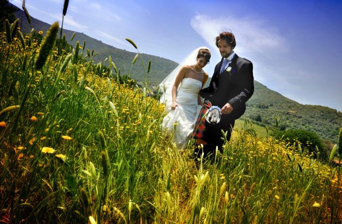 sposi in kilt Costiera Cilentana
