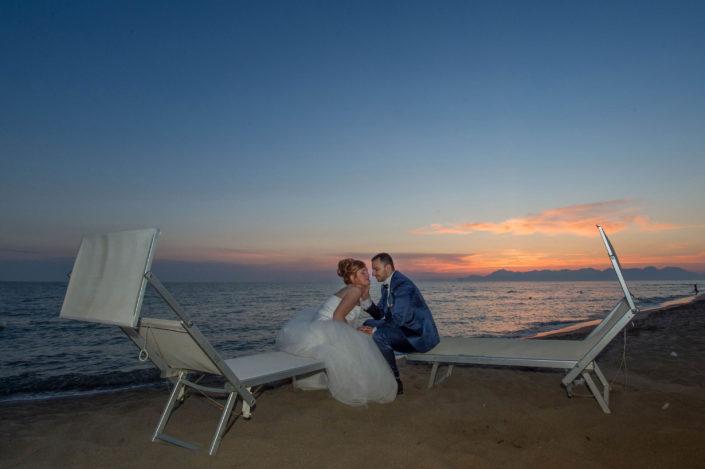 tramonto sposi foto Angelo Oliva