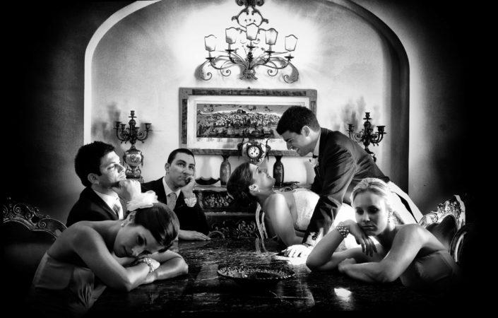 sposi biancoenero villa Fiorentino foto Angelo Oliva